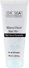 Parfüm, Parfüméria, kozmetikum Ásványi iszapos arcpakolás aloe vera ás dunaliella - Dr. Sea Mineral Mud Mask
