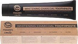 Parfüm, Parfüméria, kozmetikum Természetes fehérítő fogkrém - Mohani Smile Whitening Charcoal Toothpaste