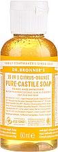 """Parfüm, Parfüméria, kozmetikum Folyékony szappan """"Citrus és narancs"""" - Dr. Bronner's 18-in-1 Pure Castile Soap Citrus & Orange"""