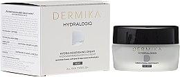 Parfüm, Parfüméria, kozmetikum Tápláló éjsazkai krém - Dermika Hydralogio Hydra Nourishing Face Cream 30+