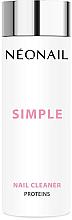 Parfüm, Parfüméria, kozmetikum Köröm zsírtalanító hagyományos körömlakkhoz - NeoNail Professional Simple Nail Cleaner Proteins