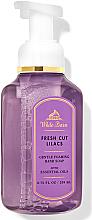 "Parfüm, Parfüméria, kozmetikum Szappan-hab kézre ""Fresh Cut Lilacs"" - Bath and Body Works White Barn Fresh Cut Lilacs Gentle Foaming Hand Soap"