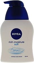 Parfüm, Parfüméria, kozmetikum Lágy folyékony szappan - Nivea Rich Moisture Soft Caring Hand Wash