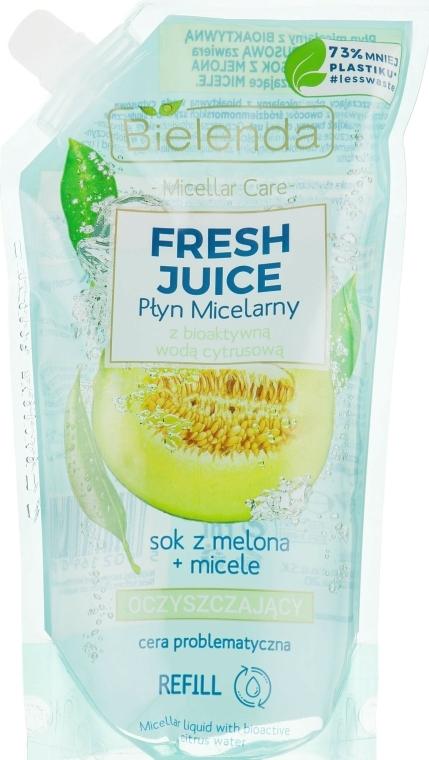 "Micellás szer ""Dinnye"" - Bielenda Fresh Juice Detoxifying Face Micellar Water Melon"