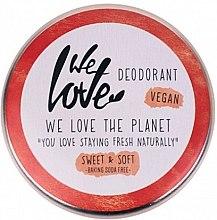 Parfüm, Parfüméria, kozmetikum Natúr krémdezodor - We Love The Planet Deodorant Sweet & Soft