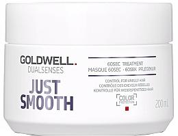 Parfüm, Parfüméria, kozmetikum Intenzív ápolás rakoncátlan hajra - Goldwell Dualsenses Just Smooth 60sec Treatment