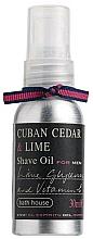 Parfüm, Parfüméria, kozmetikum Bath House Cuban Cedar & Lime - Borotvaolaj