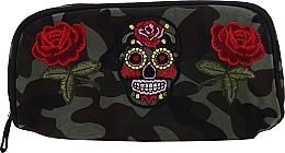 """Parfüm, Parfüméria, kozmetikum Neszeszer """"Camouflage"""", 95856, rózsa és koponya - Top Choice"""