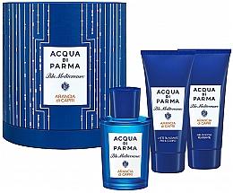 Parfüm, Parfüméria, kozmetikum Acqua di Parma Blu Mediterraneo Arancia di Capri - Szett (edt/75ml + sh/gel/75ml + b/lot/75ml)