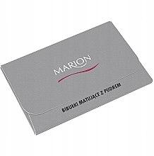 Parfüm, Parfüméria, kozmetikum Mattító kendők arcra, 50db - Marion Mat Express Oil Control Paper