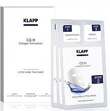 """Parfüm, Parfüméria, kozmetikum Szett """"Otthoni kozmetikai eljárás"""" - Klapp CS III Home Treatment (concentrate/3x1,5ml + mask/3db + cream/3x2ml)"""