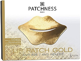 Parfüm, Parfüméria, kozmetikum Ajaktapasz - Patchness Lip Patch Gold