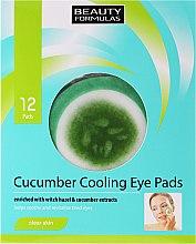 Parfüm, Parfüméria, kozmetikum Szemkörnyékápoló tapasz - Beauty Formulas Cucumber Cooling Eye Pads