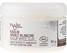 Parfüm, Parfüméria, kozmetikum Fehér agyag - Najel Clay In Powder White