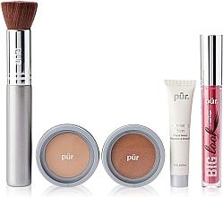 Parfüm, Parfüméria, kozmetikum Szett - Pur Minerals Best Sellers Starter Kit Light Tan (primer/10ml+found/4.3g+bronzer/3.4g+mascara/5g+brush)