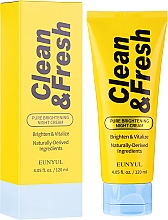 Parfüm, Parfüméria, kozmetikum Éjszakai világosító arckrém - Eunyul Clean & Fresh Pure Brightening Night Cream