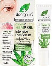 Parfüm, Parfüméria, kozmetikum Intenzív szemkörnyékápoló szérum - Dr. Organic Bioactive Skincare Hemp Oil Intensive Eye Serum