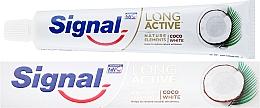 Parfüm, Parfüméria, kozmetikum Fogkrém - Signal Long Active Nature Elements Coco White