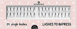 Parfüm, Parfüméria, kozmetikum Tincses műszempilla - Essence Lashes To Impress 01 Single Lashes