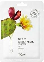 "Parfüm, Parfüméria, kozmetikum Arcmaszk ""Kaktusz"" - Yadah Daily Green Mask Cactus"