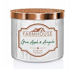 Parfüm, Parfüméria, kozmetikum Kringle Candle Farmhouse Green Apple Arugula - Illatosított gyertya