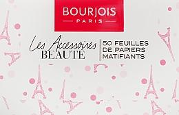 Parfüm, Parfüméria, kozmetikum Mattító törlőkendő arcra - Bourjois Mattifying Blotting Papers