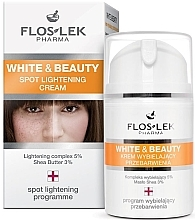 Parfüm, Parfüméria, kozmetikum Pigmentfolt világosító krém - Floslek White & Beauty Spot Lightening Cream