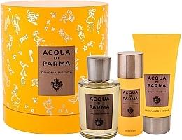 Parfüm, Parfüméria, kozmetikum Acqua Di Parma Colonia Intensa - Szett (edc/100ml + sh/gel/75ml + deo/50ml)