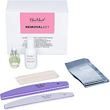 Parfüm, Parfüméria, kozmetikum Szett - NeoNail Professional Removal Set (rem/50ml + oil/15ml + n/file/2pc + n/wraps/100pc + sticks/10pc)