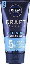 Parfüm, Parfüméria, kozmetikum Matt hajformázó zselé - Nivea Men Craft Stylers Defining Styling Gel