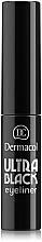 Parfüm, Parfüméria, kozmetikum Szemhéjtus - Dermacol Ultra Black Eyeliner
