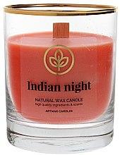 Parfüm, Parfüméria, kozmetikum Dekoratív gyertya pohárban, 8x9.5cm - Artman Indian Night