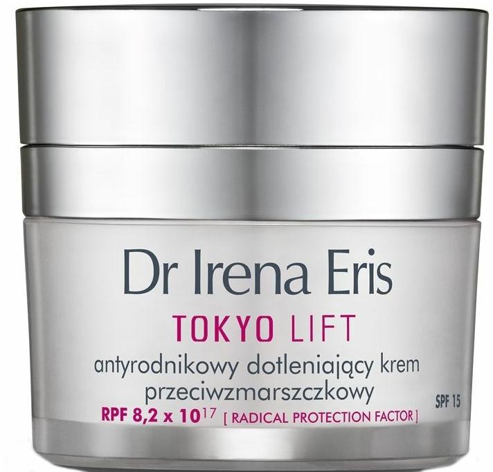 Bőrsimító nappali arckrém - Dr Irena Eris Tokyo Lift Anti-Wrinkle Radical Protection Oxygen Cream — fotó N1
