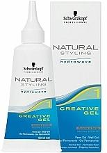 Parfüm, Parfüméria, kozmetikum Kreatív hajtődauer-zselé - Schwarzkopf Professional Natural Styling Creative Gel №1