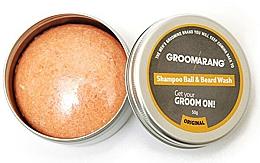 Parfüm, Parfüméria, kozmetikum Szilárd szakáll sampon - Groomarang Shampoo Ball & Beard Wash
