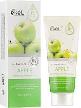 "Parfüm, Parfüméria, kozmetikum Arcpeeling-gél ""Alma"" - Ekel Apple Natural Clean Peeling Gel"