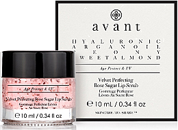Parfüm, Parfüméria, kozmetikum Ajakradír - Avant Velvet Perfecting Rose Sugar Lip Scrub