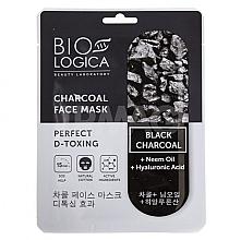 """Parfüm, Parfüméria, kozmetikum Maszk """"Tökéletes detox"""" szénnel - Biologica Charcoal"""