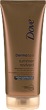 Parfüm, Parfüméria, kozmetikum Bronzosító testápoló - Dove Derma Spa Summer Revived Medium To Dark Skin Body Lotion