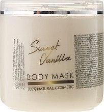 """Parfüm, Parfüméria, kozmetikum Test- és arcmaszk """"Édes vanília"""" - Sezmar Collection Professional Body Mask Sweet Vanilla"""