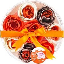 "Parfüm, Parfüméria, kozmetikum Fürdő konfetti ""Narancs"", 8 db - Spa Moments Bath Confetti Orange"