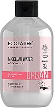 """Parfüm, Parfüméria, kozmetikum Sminklemosó micellás víz """"Orchidea és rózsa"""" - Ecolatier Urban Micellar Water Age Control"""