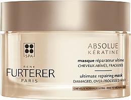 Parfüm, Parfüméria, kozmetikum Intenzíven helyreállító maszk sérült és legyengült hajra - Rene Furterer Absolue Keratine Ultimate Repairing Mask