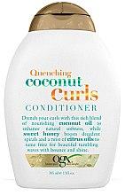 Parfüm, Parfüméria, kozmetikum Kondicionáló hullámos hajra - OGX Coconut Curls Conditioner