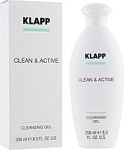 Parfüm, Parfüméria, kozmetikum Tisztító gél - Klapp Clean & Active Cleansing Gel
