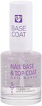 Parfüm, Parfüméria, kozmetikum Alap és fedőlakk - Rimmel Nail Nurse 5 in 1 Nail Base & Top Coat