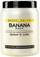 Parfüm, Parfüméria, kozmetikum Maszk sérült hajra - Stapiz Basic Salon Banana Mask