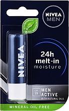 Parfüm, Parfüméria, kozmetikum Ajakbalzsam - Nivea Men Active Care SPF 15
