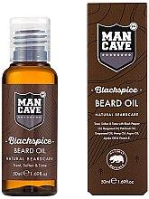 Parfüm, Parfüméria, kozmetikum Szakállolaj - Man Cave Blackspice Beard Oil