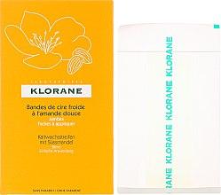 Parfüm, Parfüméria, kozmetikum Szőrtelenítő gyanta csíkok lábra mandulával - Klorane Cold Wax Strips